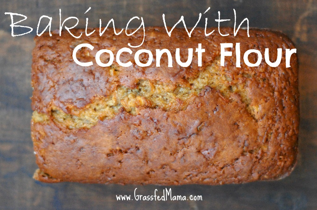 Baking With Coconut flour - Grassfed Mama