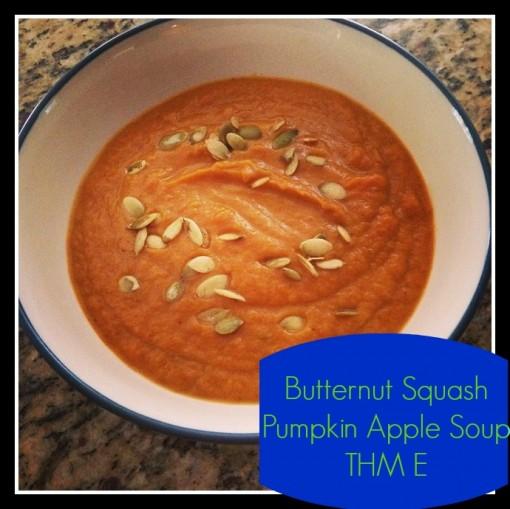 butternut squash apple pumpkin soup