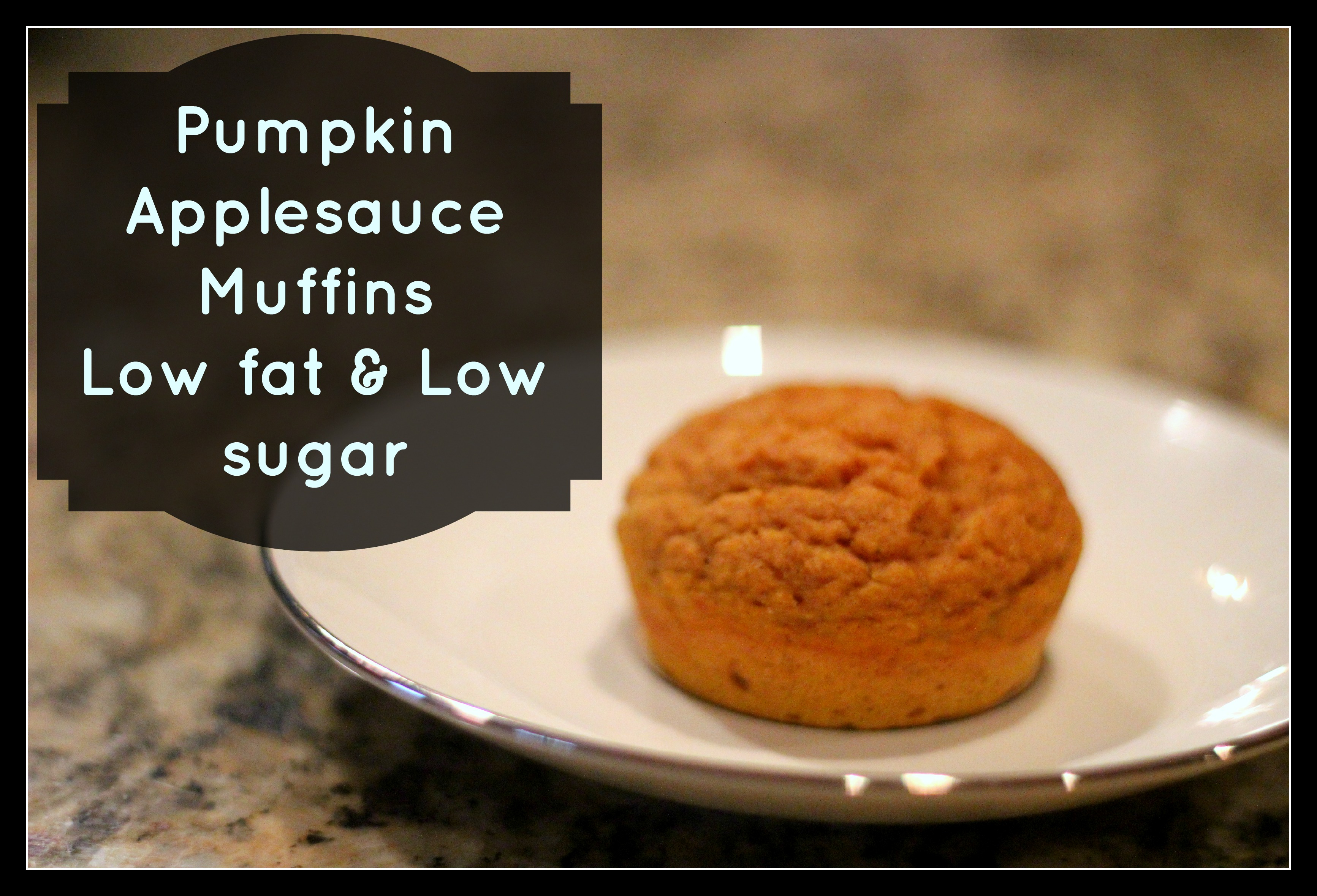 pumpkin applesauce muffin