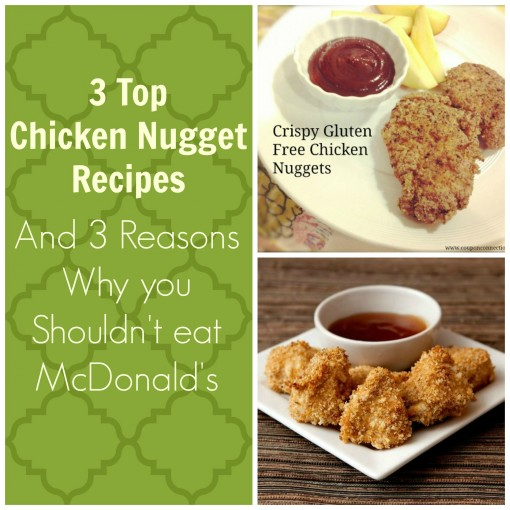 Chicken nuggets, homemade nuggets, mcdonalds, gluten free, paleo, recipe