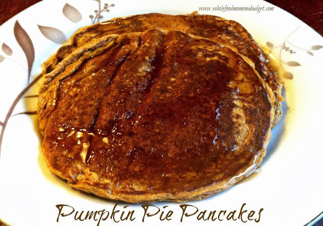 Pumpkin Pie Pancakes 2