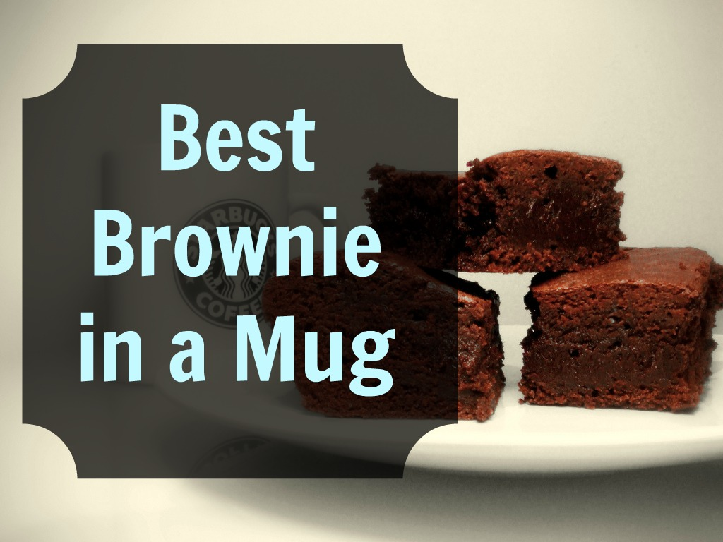The Best Brownie in a Mug Recipe! - Grassfed Mama