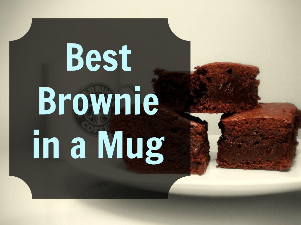 The Best Brownie In A Mug Recipe Grassfed Mama