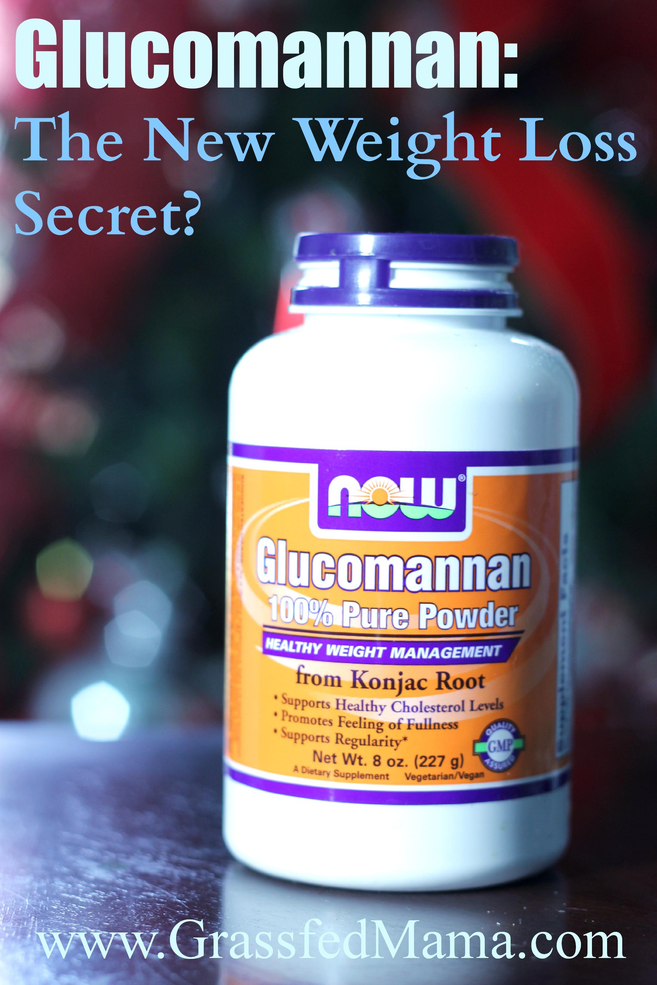 Glucomannan: The New Weight Loss Secret? - Grassfed Mama