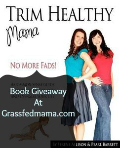 Trim Healthy Mama Book Giveaway At Grassfed Mama