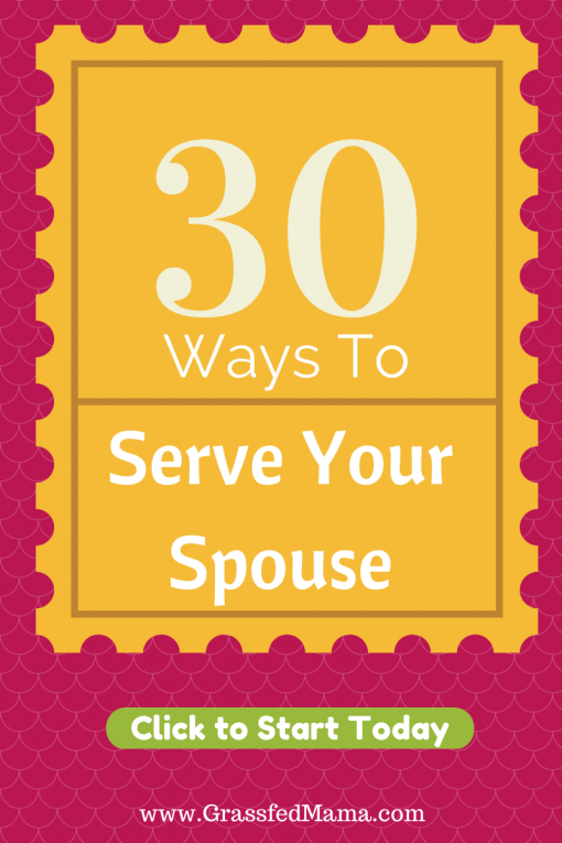 acts of service, 5 love languages, serve your spouse, show your spouse you love them