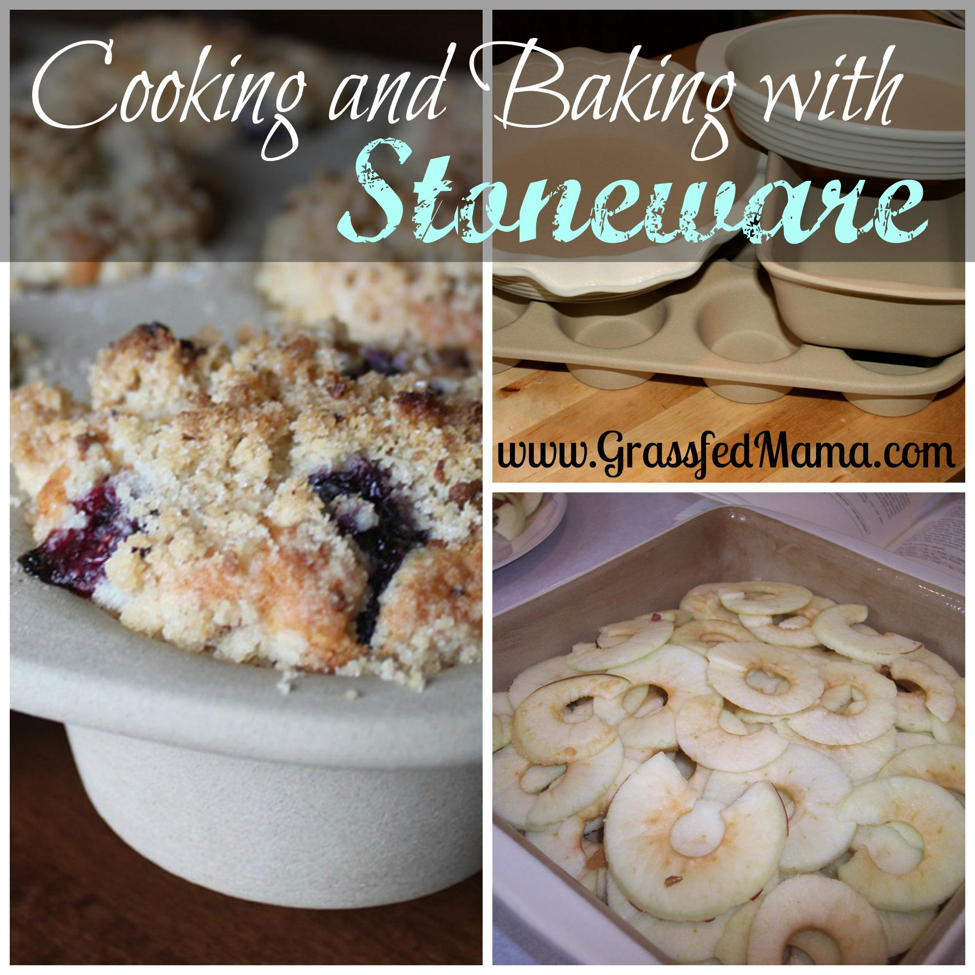 Cooking And Baking With Stoneware Grassfed Mama