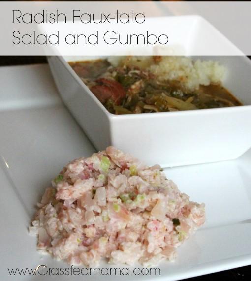 low carb radish salad
