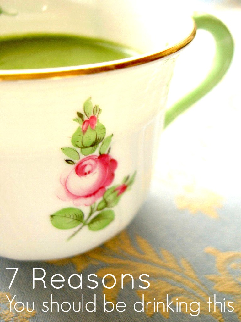 7 reasons you should be drinking Matcha Tea