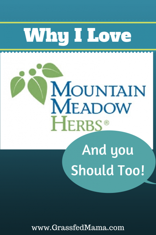 Why I love Mountain Meadow Herbs Grassfed Mama