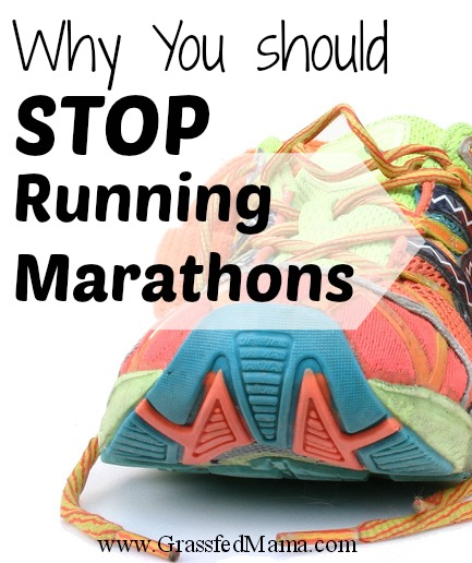 Why You should stop running marathons 2