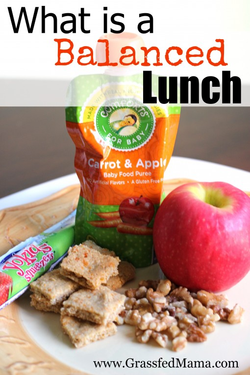 what is a balanced lunch 1