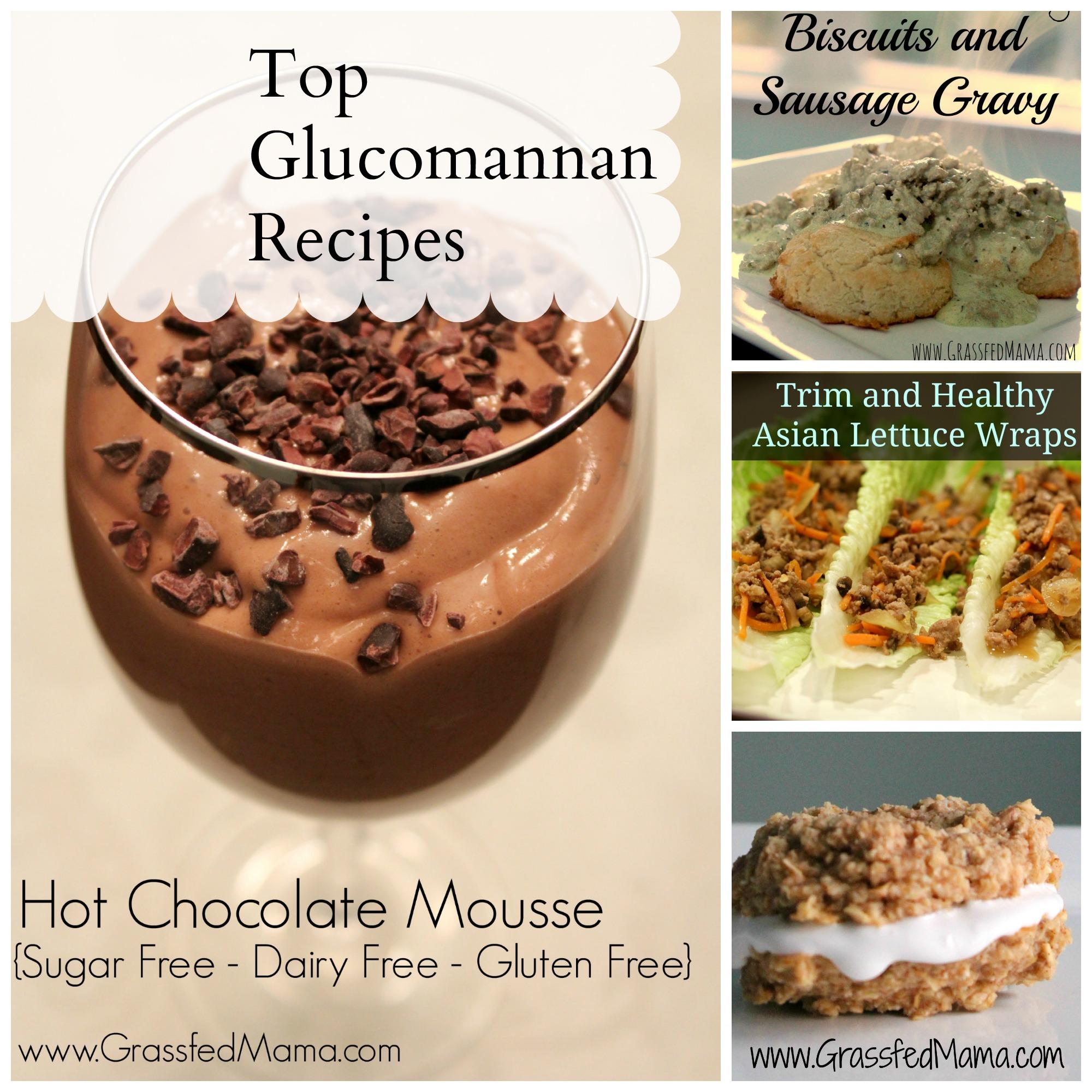 Top glucomannan recipes