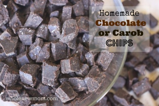 sugar free chocolate chips homemade