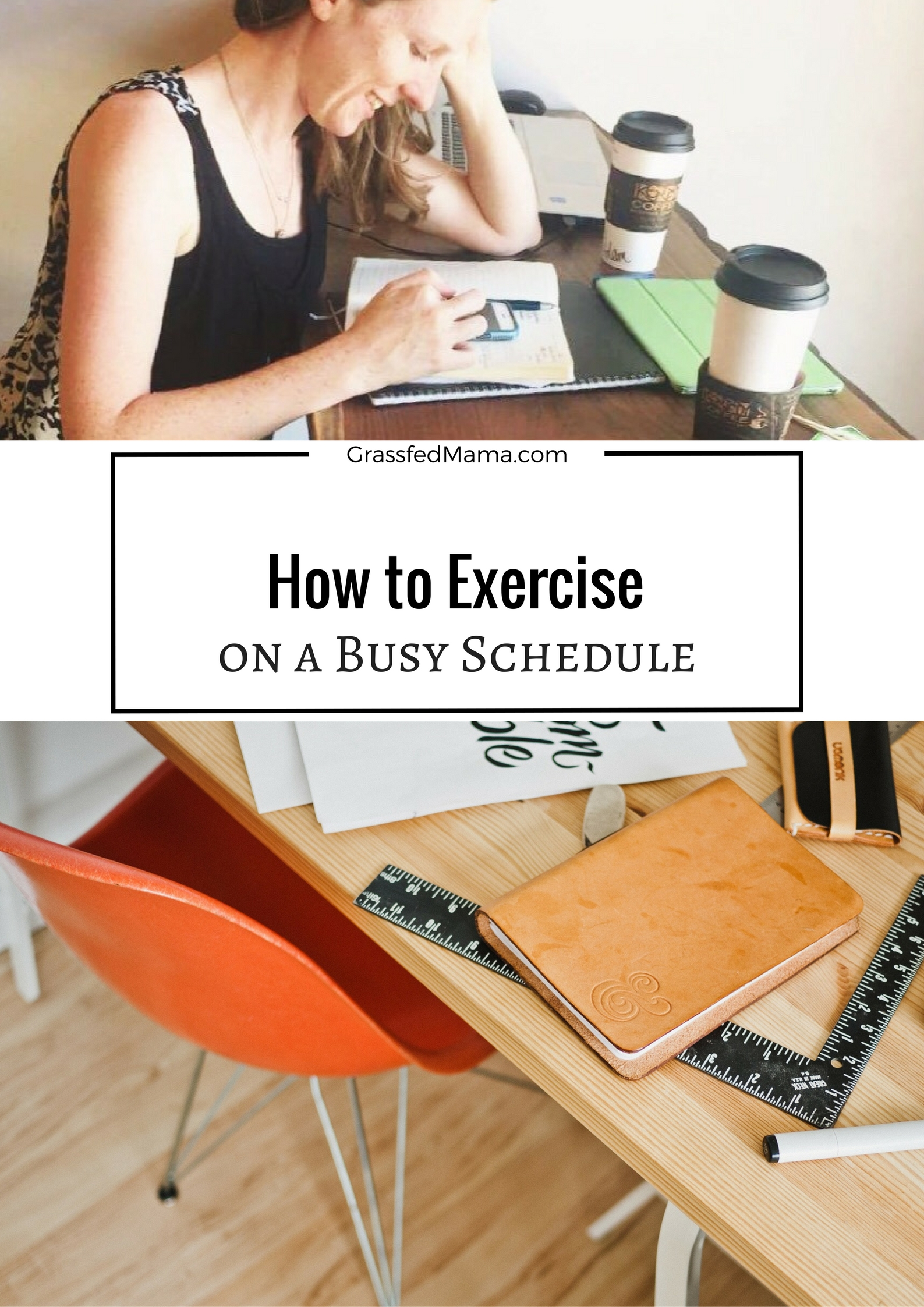 How to Exercise on a busy schedule