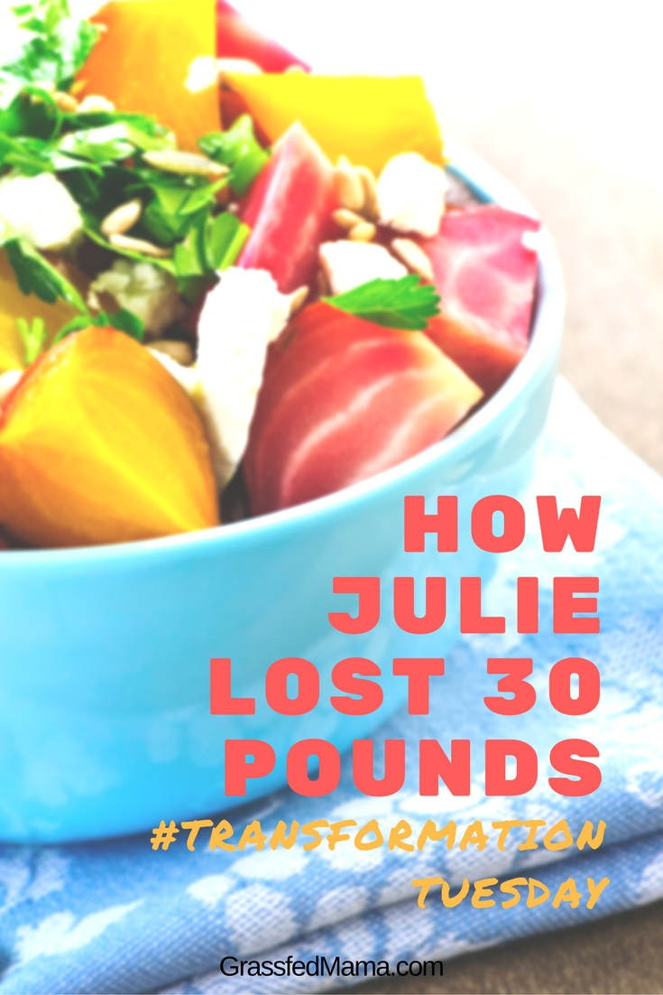 How Julie Lost 30 Pounds