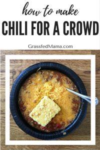 chili serves 20