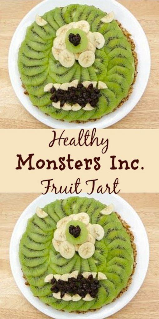 Monster Fruit Tart