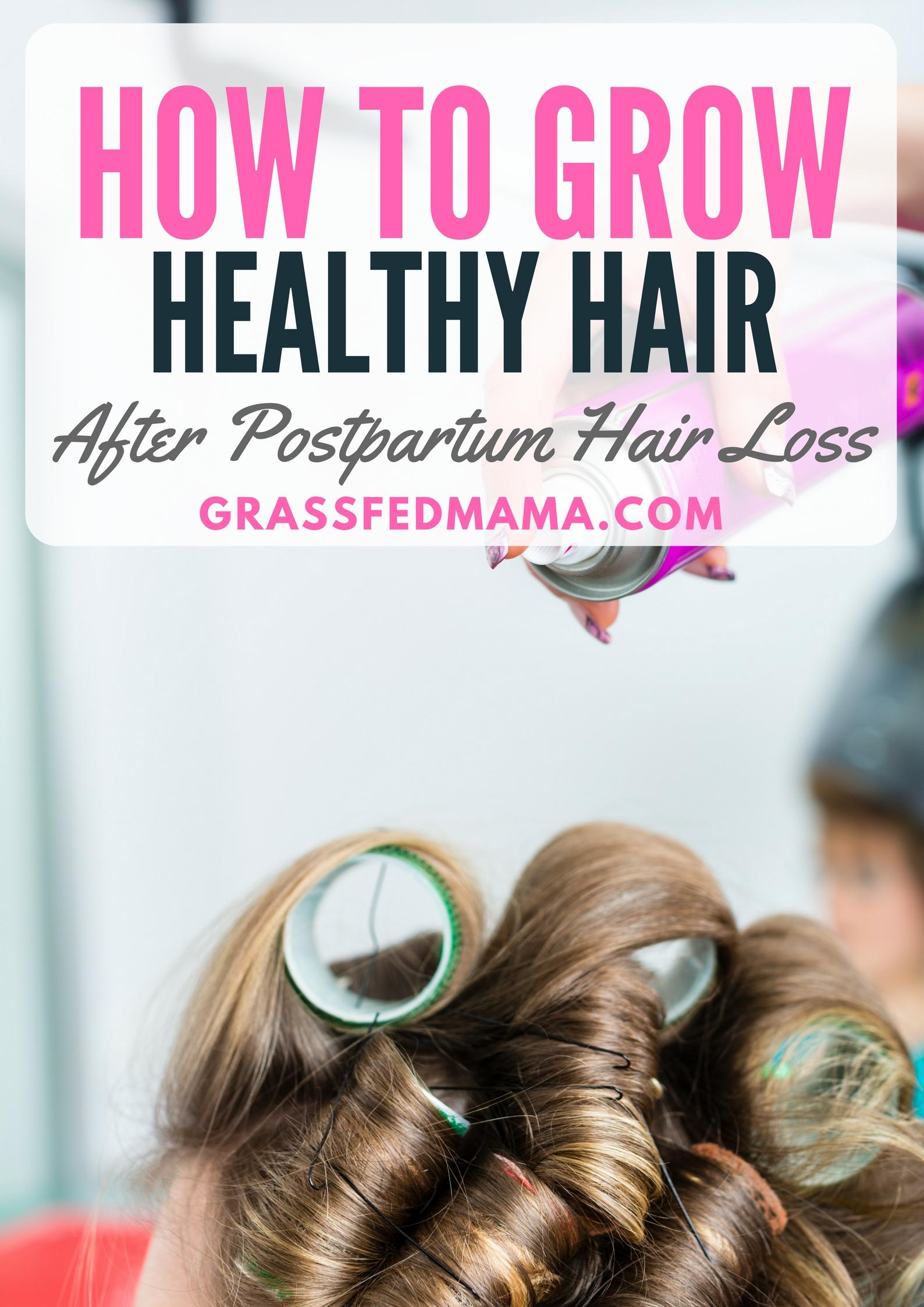 how to grow heathy hair