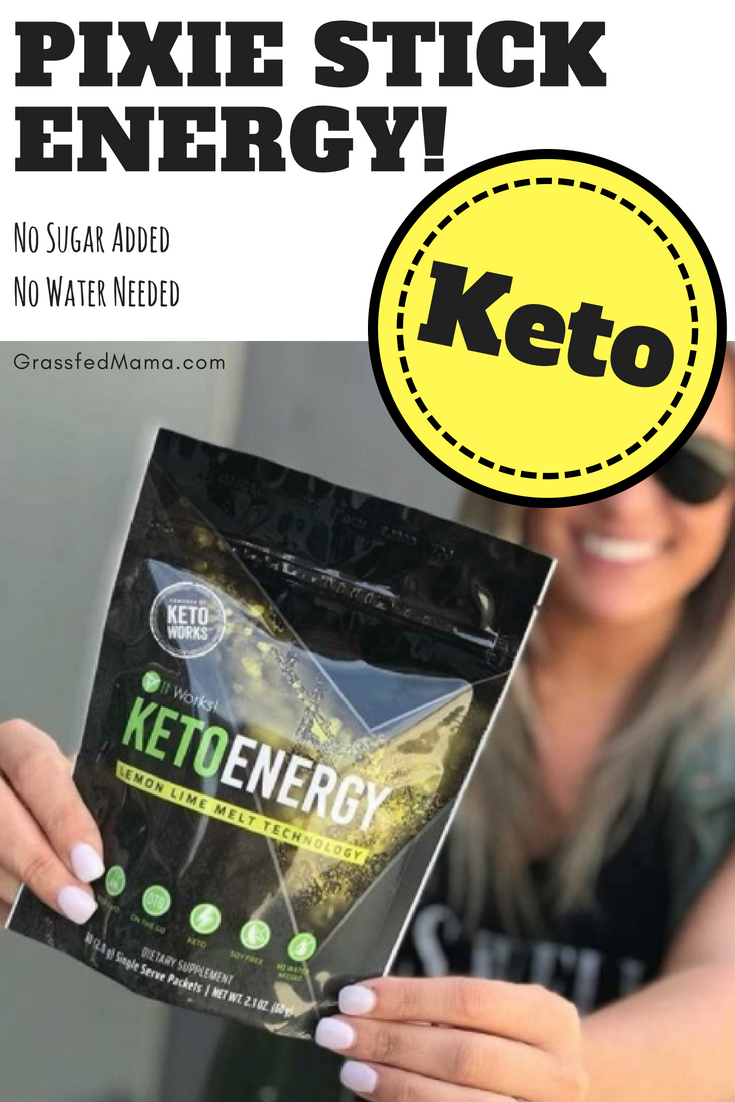 Energy In A Pixie Stick It Works Keto