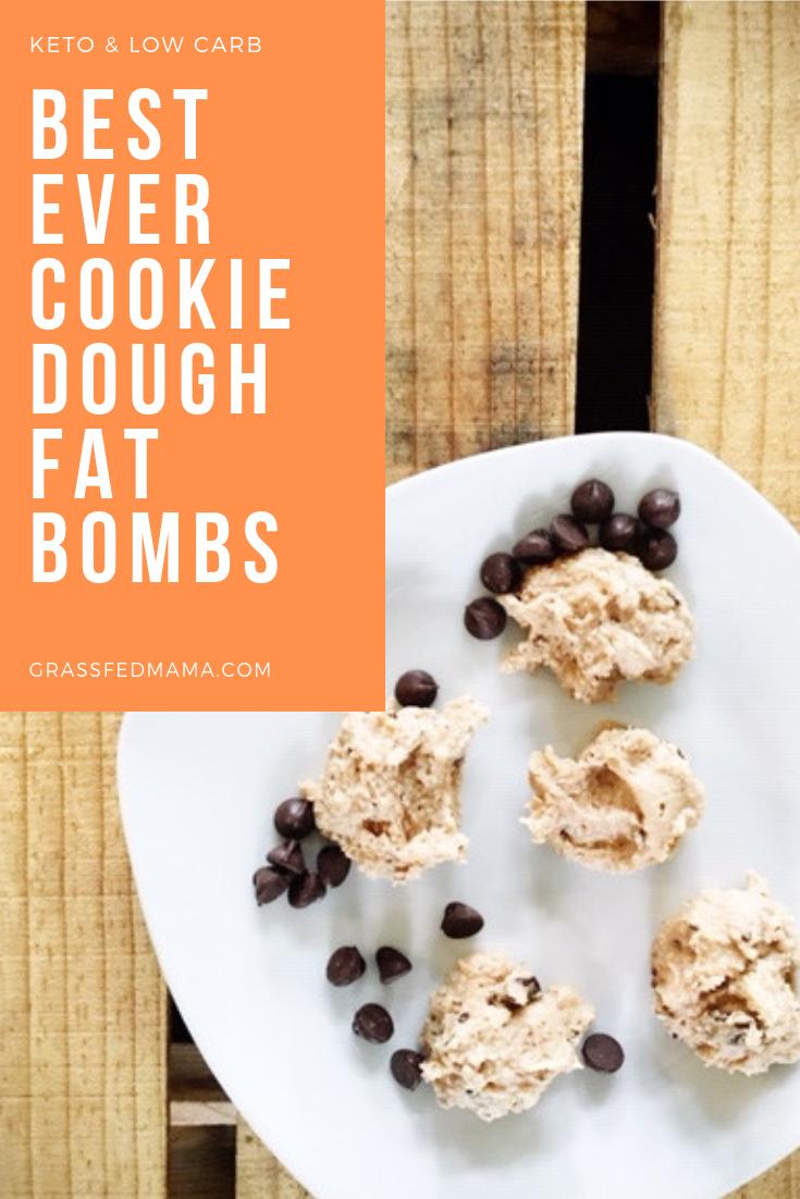 Keto Cookie Dough Fat Bomb Recipe