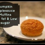 Pumpkin Applesauce Muffins: Trim Healthy Mama E