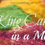 King Cake in a Mug
